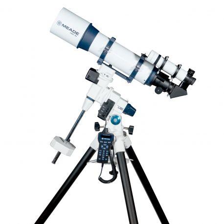 Telescopio Refractor Meade LX85 Series GoTo EQ de 120 mm con AudioStar