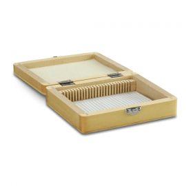 Caja Euromex de madera para 25 preparaciones - PB.5180