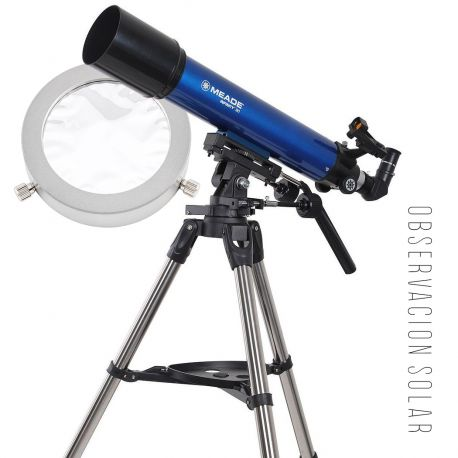 Pack Solar Telescopio Refractor Meade Infinity 90 con Filtro Ultralyt