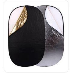 Reflector Ultralyt oval 5 en 1  de 71 x 112 cm