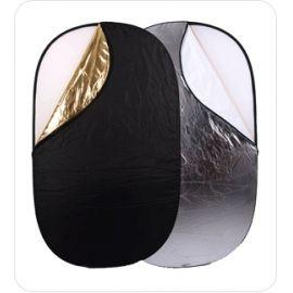 Reflector Ultralyt oval 5 en 1  de 90 x 120 cm