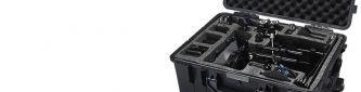 Amplia gama de cajas y maletas estancas para el transporte de equipos de fotografía y ópticos. Local en Madrid. Envíos 24h.
