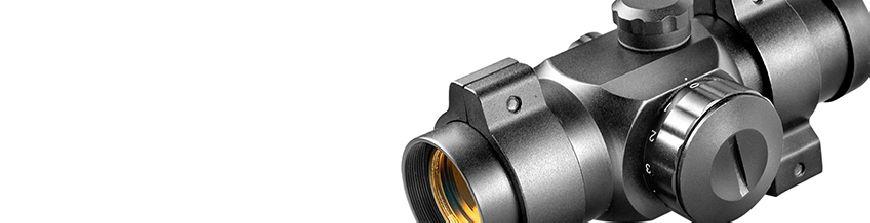 Gran gama en miras telescopicas / visores telescópicos para carabina, escopeta, rifle y pistola. También amplio surtido de miras / visores de punto rojo.