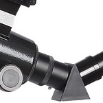 Telescopio refractor B&Crown 102-600, detalle del diagonal