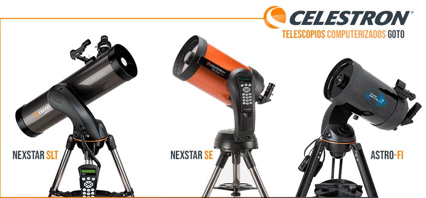 Telescopios astronómicos Celestron